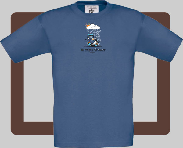 Our kids connemara denim t-shirts are bright and fun for kids of all ages   T-shirts from Conn O'Mara for Connemara kids.