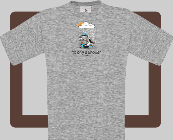 Our kids connemara grey t-shirts are bright and fun for kids of all ages   T-shirts from Conn O'Mara for Connemara kids.