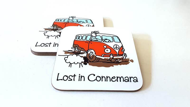 Coaster Lost in Connemara