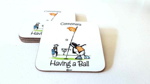 Coaster Having a Ball