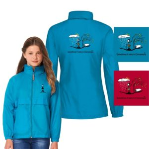 Conn O'Mara Rain Coat Kids Sometimes It Rains In Connemara