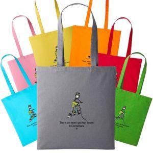 Conn O'Mara Shopping Bag There Are More Ups Than Downs In Connemara