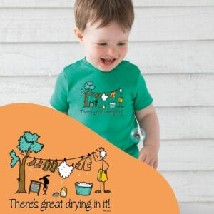Conn O'Mara Baby T-Shirt There's Great Drying In It!